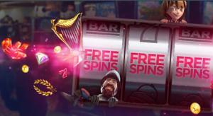 Free spins wiel